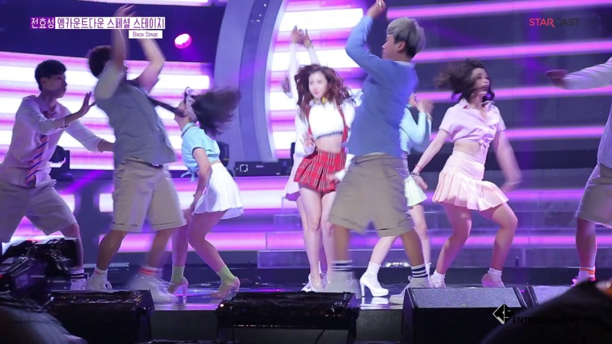 HyoSeong 'Hyori cover stage rehearsal'