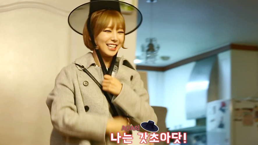 AOA [OPEN UP! AOA] EP.02  ChoA's Day, Dreaming of Being A Fashionista
