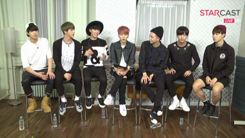 BTS 'I NEED U, BTS ON AIR' OnAir