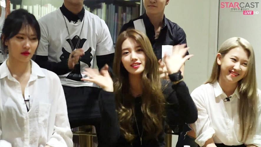 1) JYP NATION ONE MIC TALK
