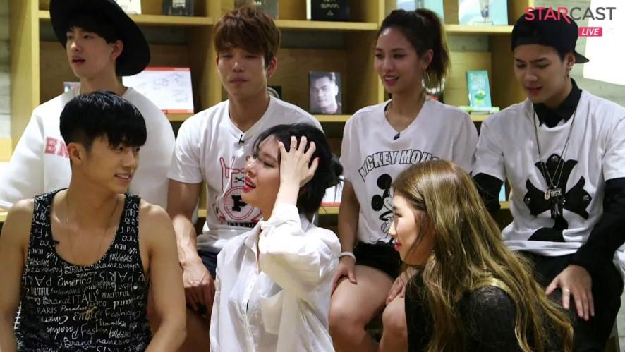 6) JYP NATION ONE MIC TALK