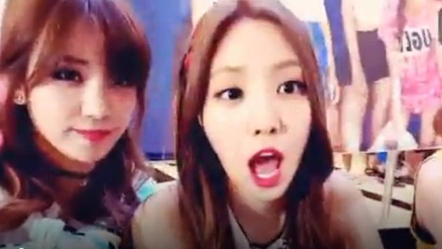 Apink Broadcast (여의도 팬사인회 현장)