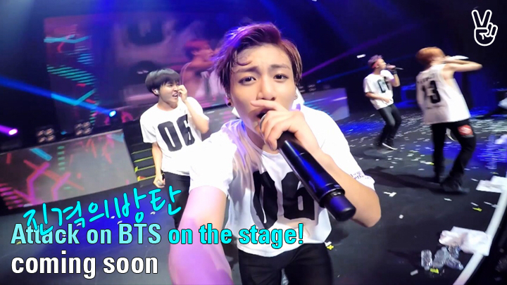 [STAGE] Self-CAM: Attack on BTS!
