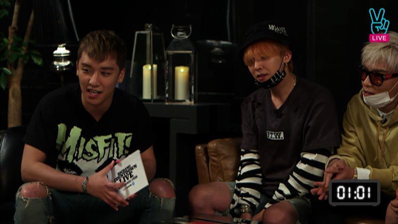 [ V ] BIGBANG COUNT DOWN LIVE - '우.사.말.우.사.해' 연애상담