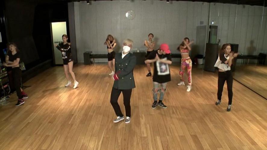 [ V ] BIGBANG COUNT DOWN LIVE - '쩔어' 안무 영상