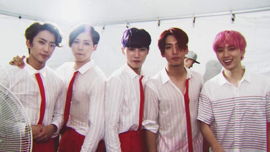 [Vehind] B1A4 Guerrilla concert making!