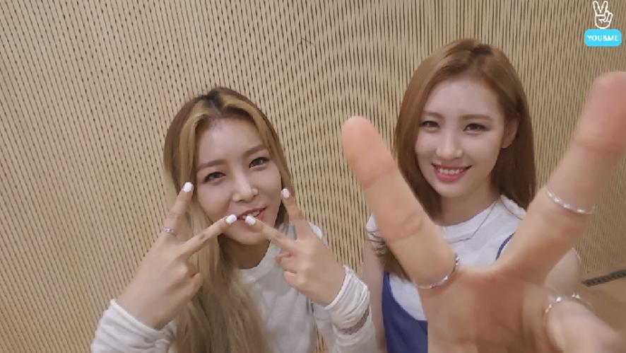"Wonder Girls ""Yubin, Sunmi's YOU&ME"" episode 1"