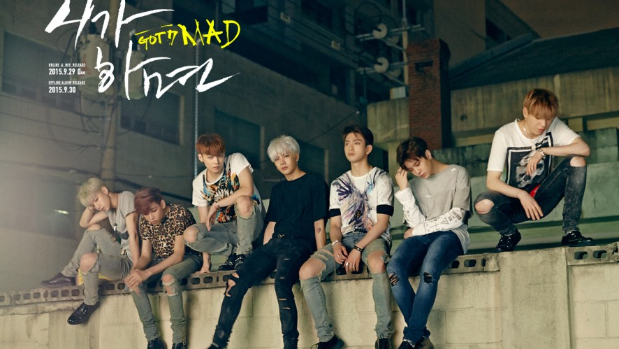GOT7 <MAD> COMEBACK COUNTDOWN