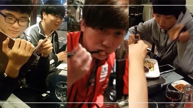 SKT, KT, KOO 먹방 인터뷰 1부