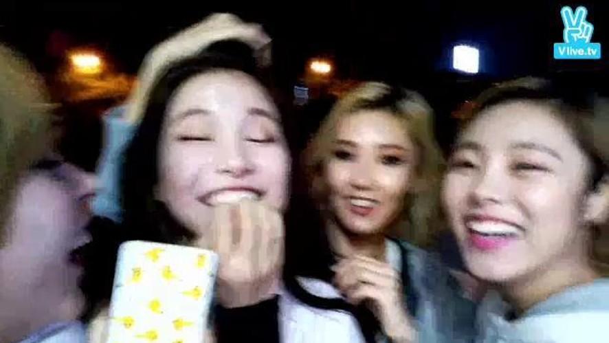 MAMAMOO V TV #15 솔라감성 공개되기 전이에요! spot live