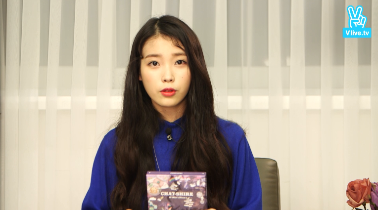 [V] IU COMEBACK LIVE TALK - ALBUM OPEN