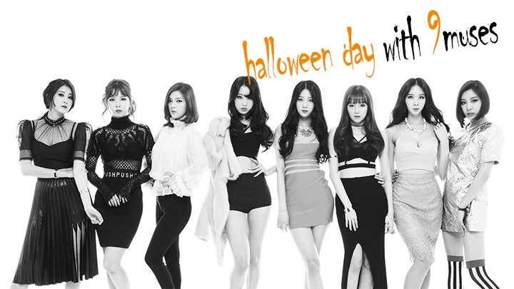 [9MUSES] Halloween day with 9muses