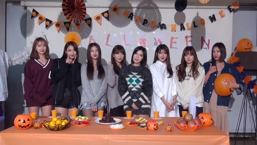 [9MUSES] Halloween day special video !