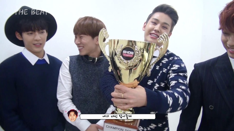 BTOB THE BEAT #3 First prize!