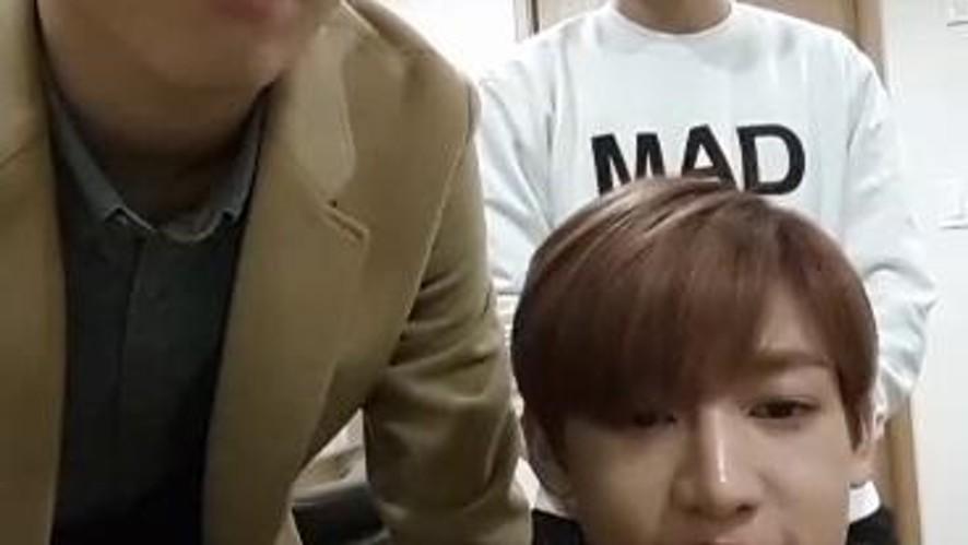 GOT7 Spot Live @팬싸인회 대기실