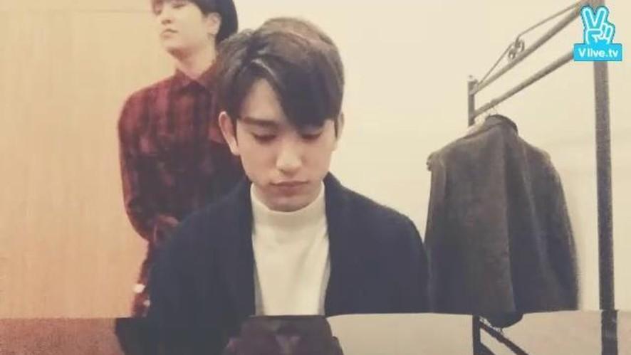 GOT7 Spot Live@팬사인회 대기실
