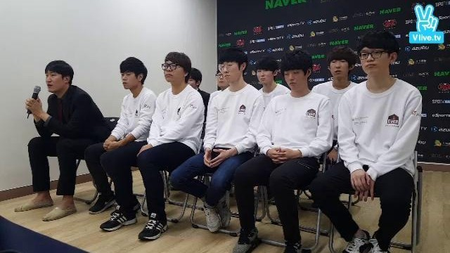 NAVER 2015 KeSPA Cup 1st Press Interview