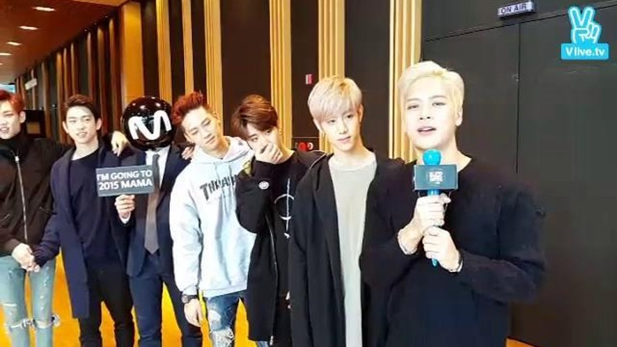 "LIVE with GOT7 ""MAMA coming soon"""