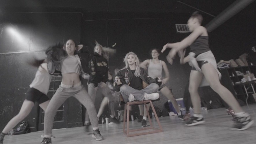 CL - 'HELLO BITCHES' DANCE VIDEO MAKING FILM