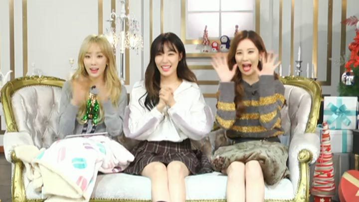 [Replay] Girls' Generation-TTS Dear Santa after Stage