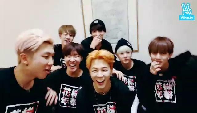 BTS 1위 축하 Live