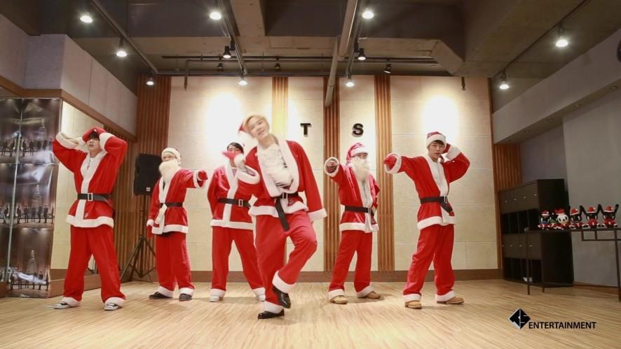 [스타캐스트]B.A.P - Be Happy Dance Practice(X-mas Ver.)