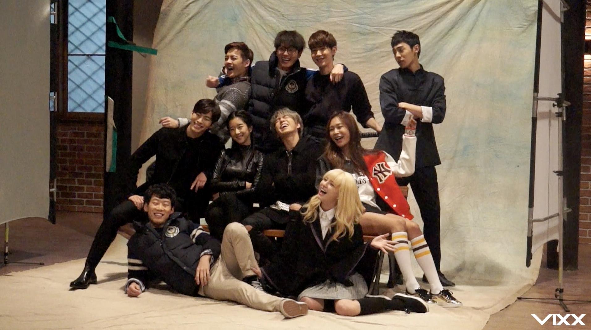 [VIXX] 홍빈 KBS 드라마 '무림학교' 포스터 촬영현장