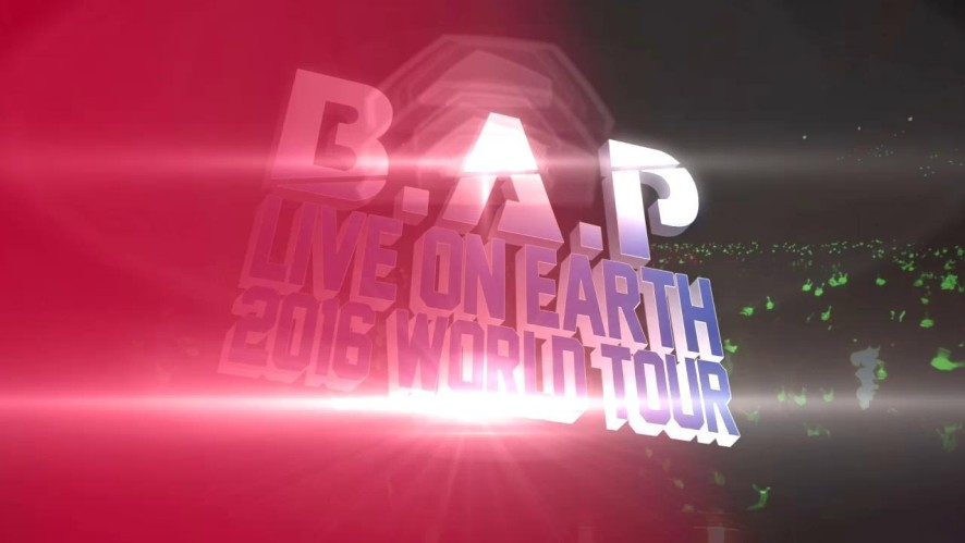 B.A.P LIVE ON EARTH 2016 WORLD TOUR Teaser