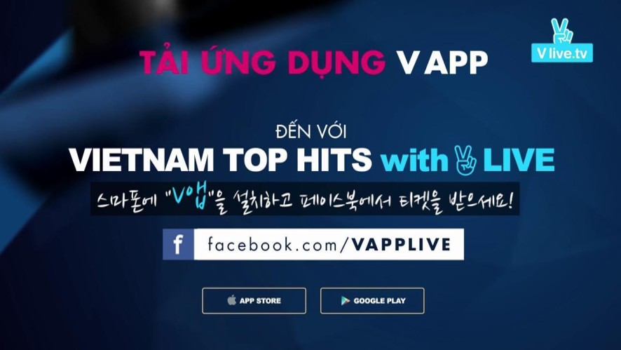 Vietnam top hits with V live