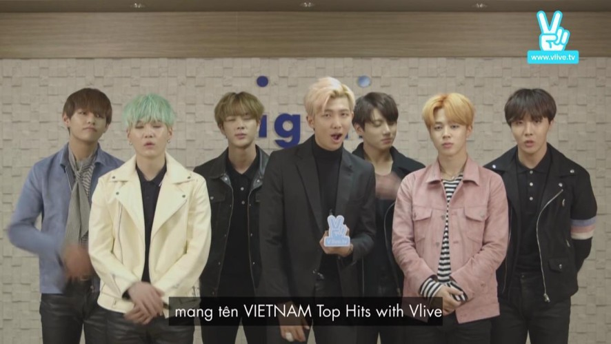 GALA VIETNAM TOP HITS - BTS's Greeting