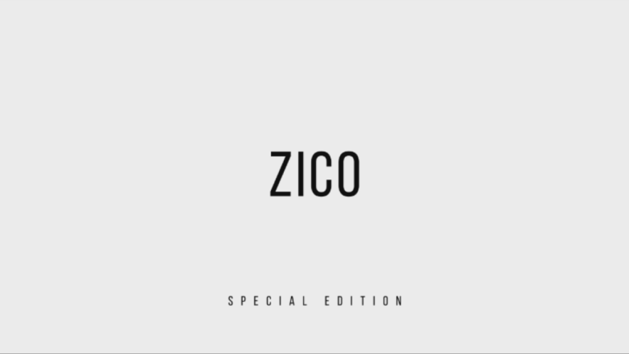 지코(ZICO) - SPECIAL EDITION DVD HIGHLIGHT