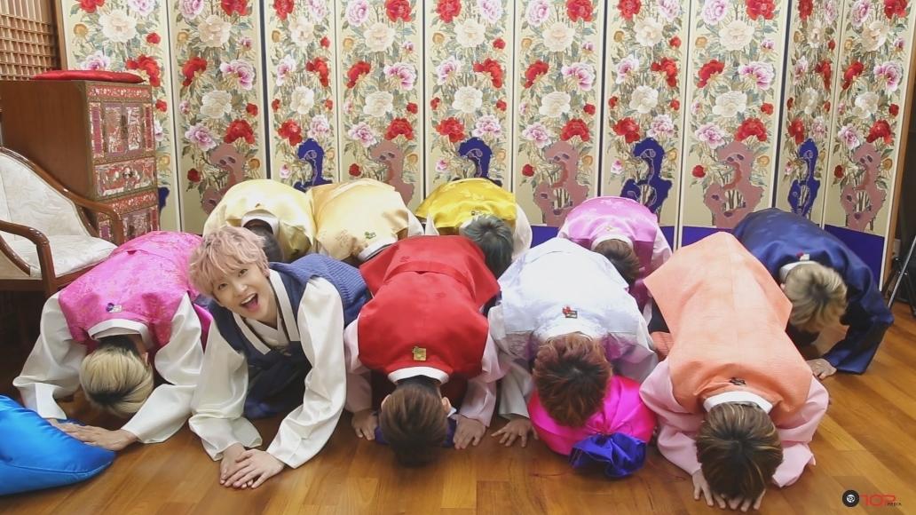 [UP10TION] 업텐션이 보내는 2016 새해 메시지