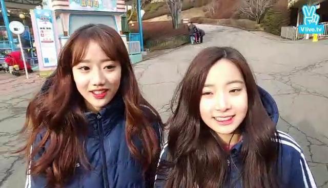 에이프릴의 환상의 릴레이 (feat.넘나추운것)