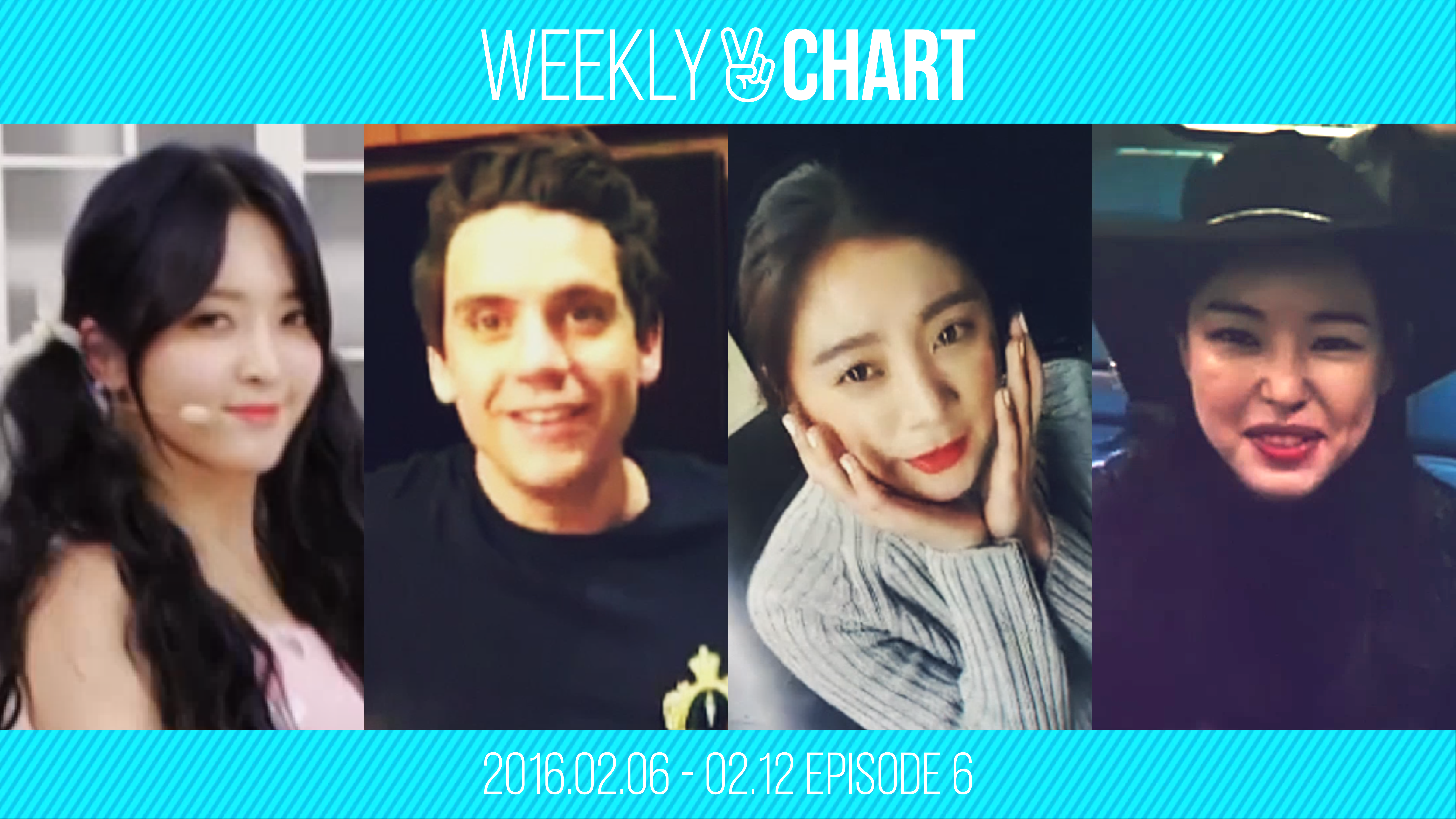 [WEEKLY V CHART] 2016.2.6 - 2.12 EPISODE