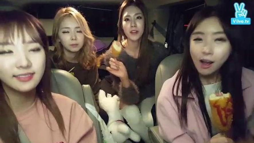 Stellar - Tellarvision 3rd 스텔라의 텔라비전 본격 자동차방송!