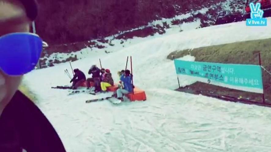Kelvin in Korea - Ski 3