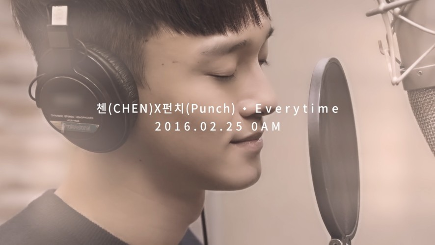 [Teaser 2] 첸(CHEN)X펀치(Punch) _ Everytime