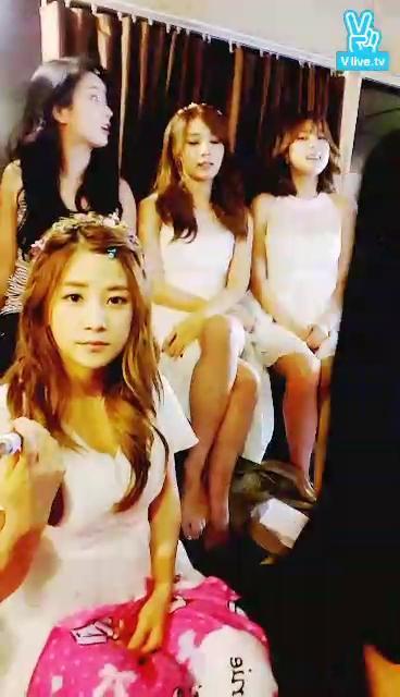 Apink Broadcast (태국 광고 촬영현장 기습!2)