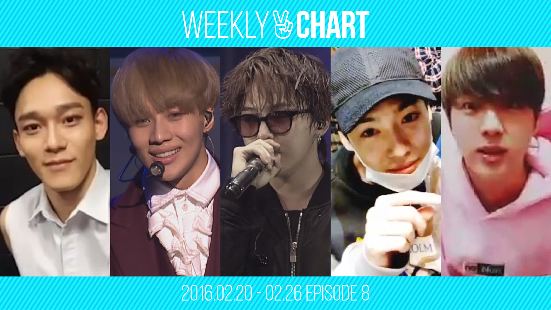 [WEEKLY V CHART] 2016.2.20 - 2.26 EPISODE