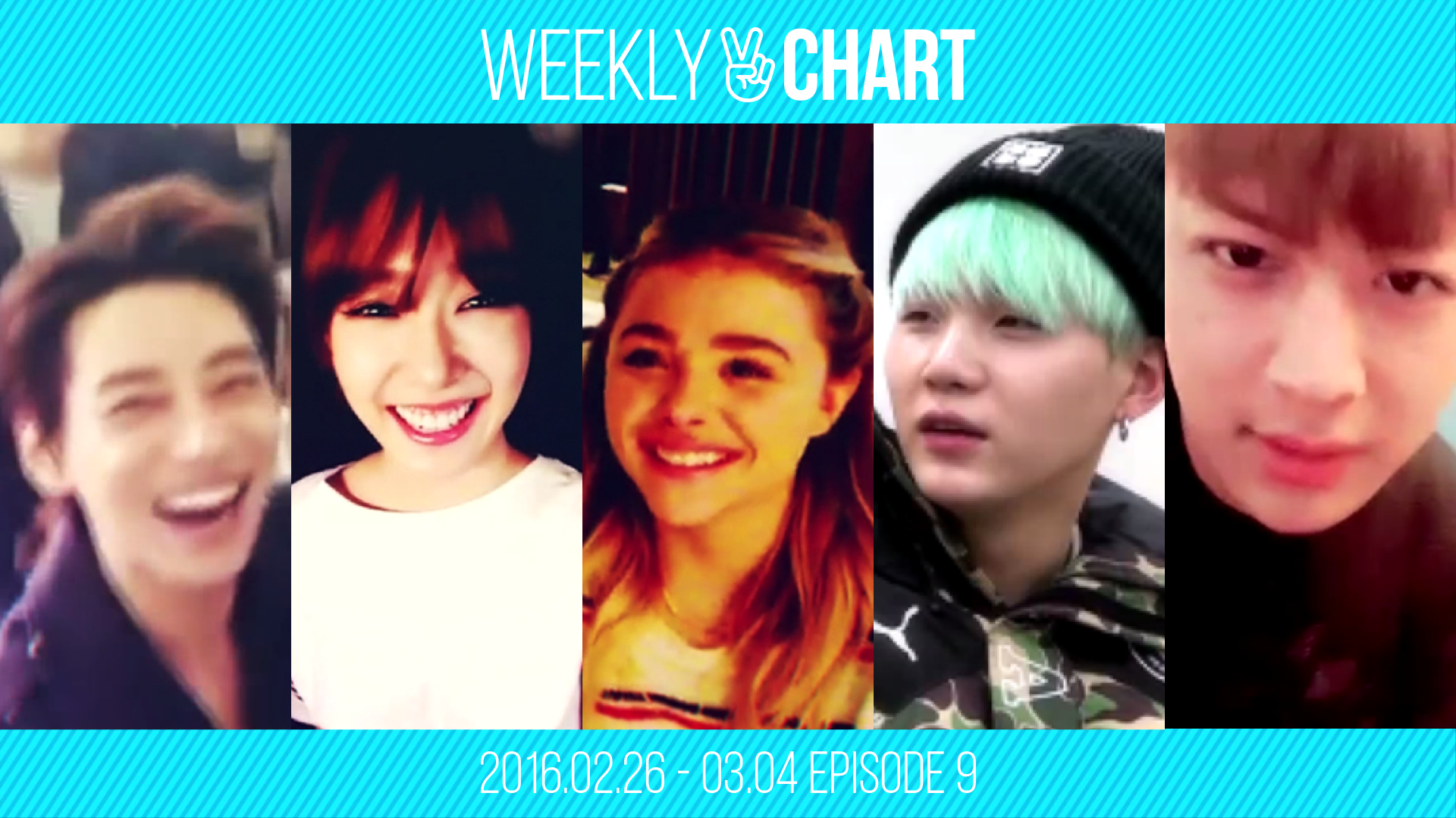 [WEEKLY V CHART] 2016.2.27 - 3.4 EPISODE