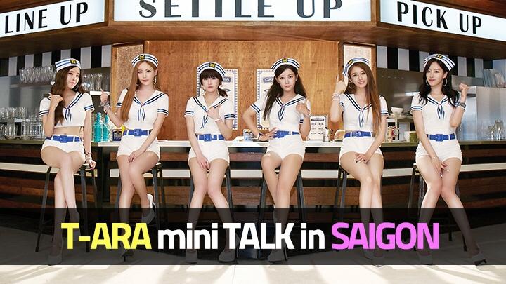 T-ARA Mini Talk in SAIGON