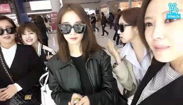 [T-ara] 베트남 출국 1초전!!!