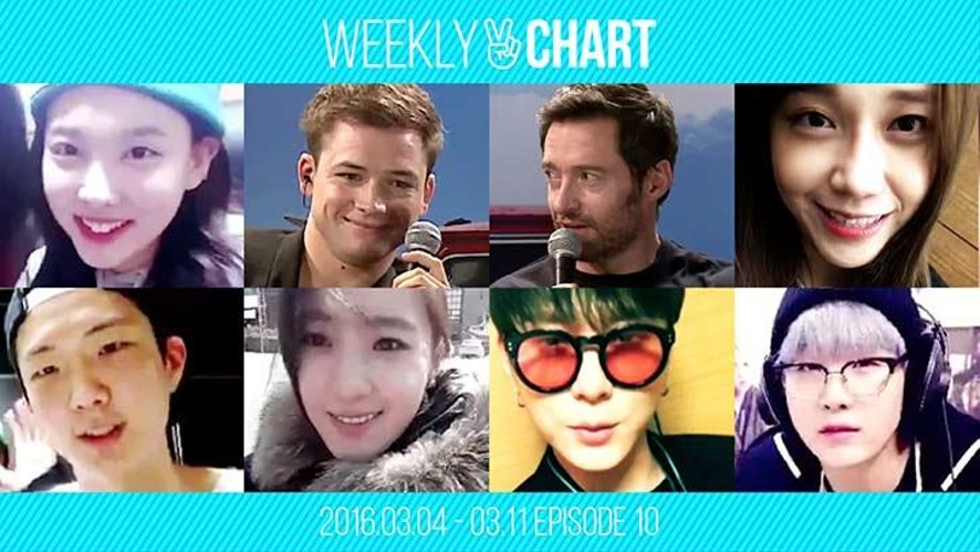 [WEEKLY V CHART] 2016.3.5- 3.11 EPISODE