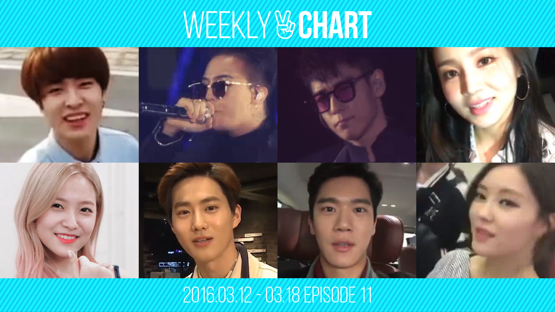 [WEEKLY V CHART] 2016.3.12- 3.18 EPISODE