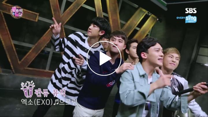 [V LIVE] EXO '판타스틱 듀오' 촬영기