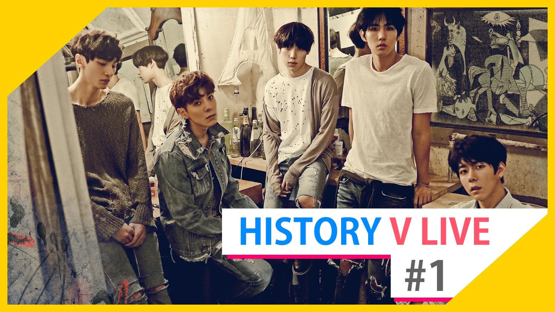 HISTORY V LIVE #1 Come Back!