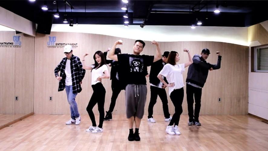 """박진영(J.Y. Park) """"살아있네(Still Alive)"""" Dance Practice"""