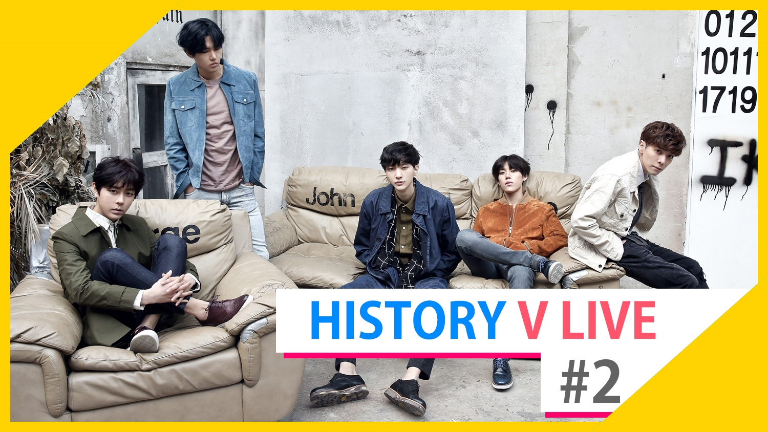HISTORY V LIVE #2 Just Before Fan Signing Event