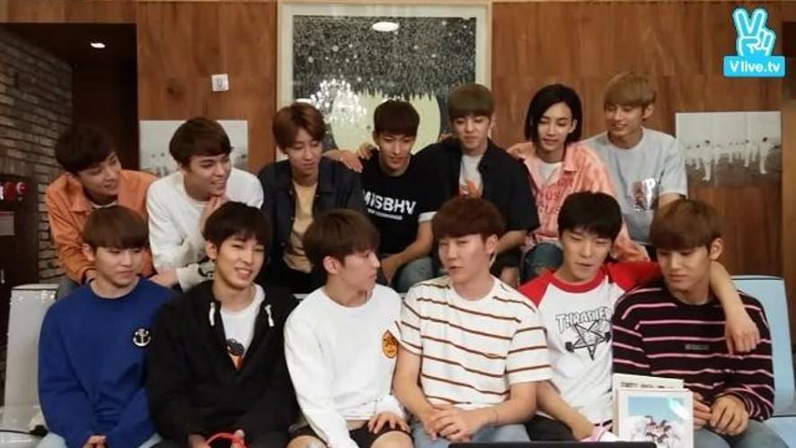 SEVENTEEN 예쁘다 뮤직비디오 100만뷰 돌파기념 돌아온 안드로메다