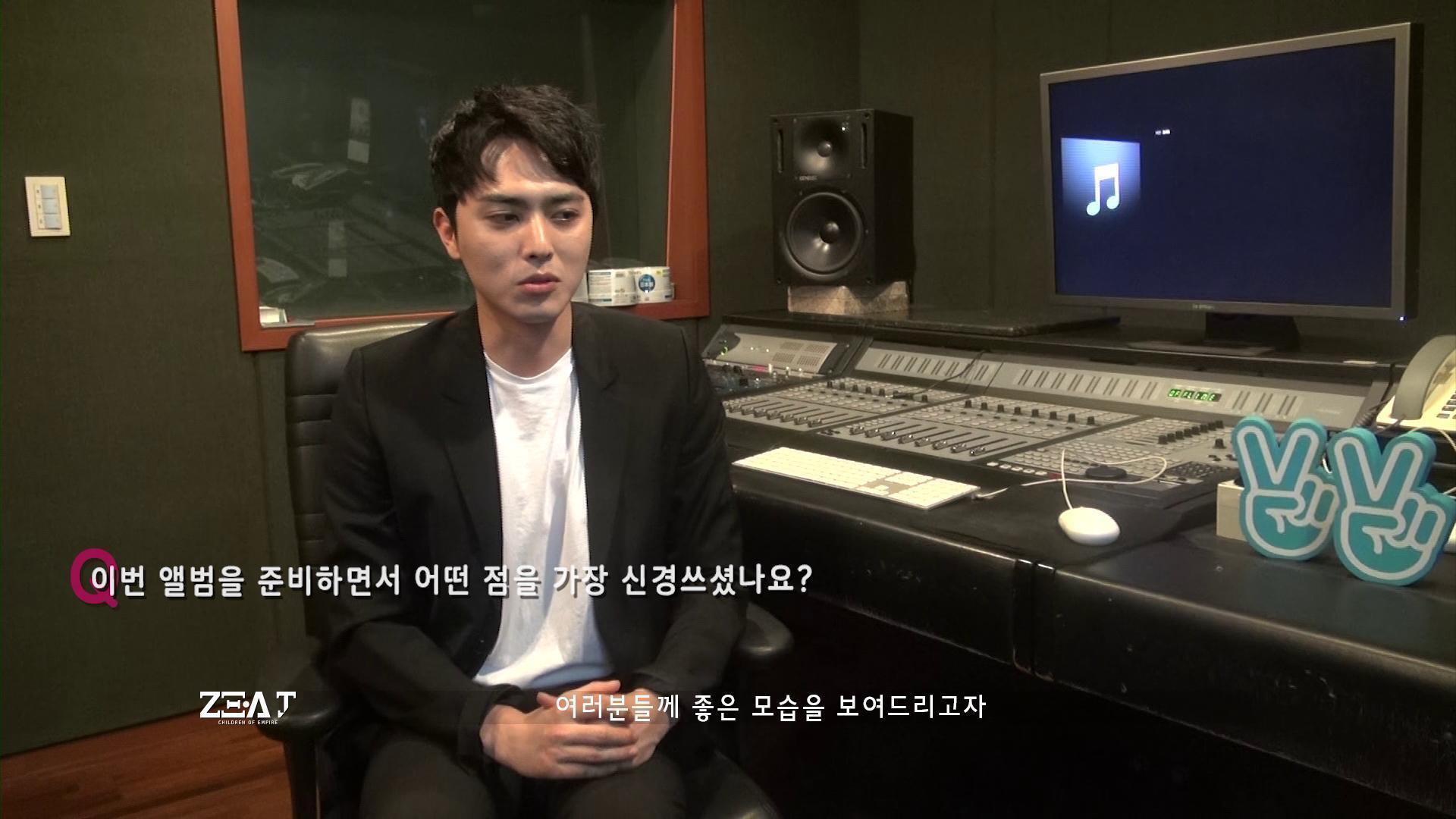 [ZE:A] 제국의아이들 유닛 ZE:A J 스페셜 인터뷰